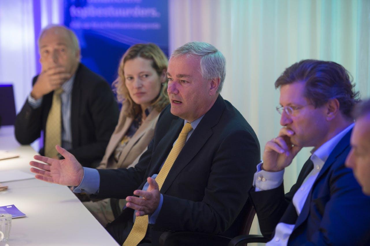 Enkele deelnemers aan The Financial Agenda.