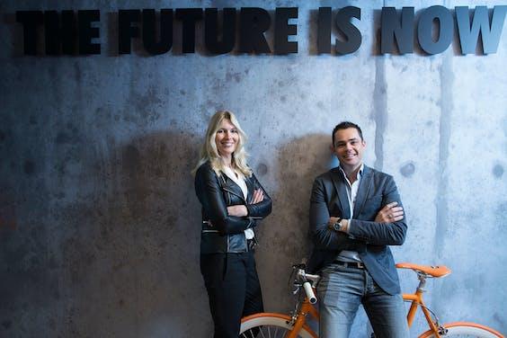 Ineke Kooistra CEO Young Capital met Rogier Thewessen