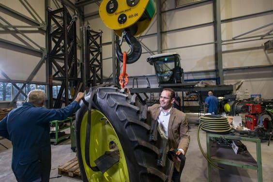 Eelco Osse directeur van Machinefabriek Boessenkool in Almelo