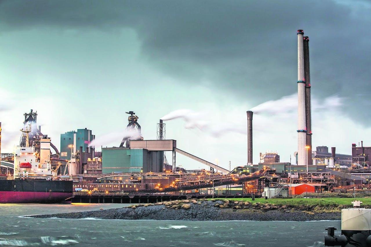 Tata Steel in IJmuiden.