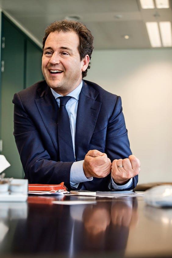 Minister van Sociale Zaken en Werkgelegenheid en vice-premier Lodewijk Asscher.