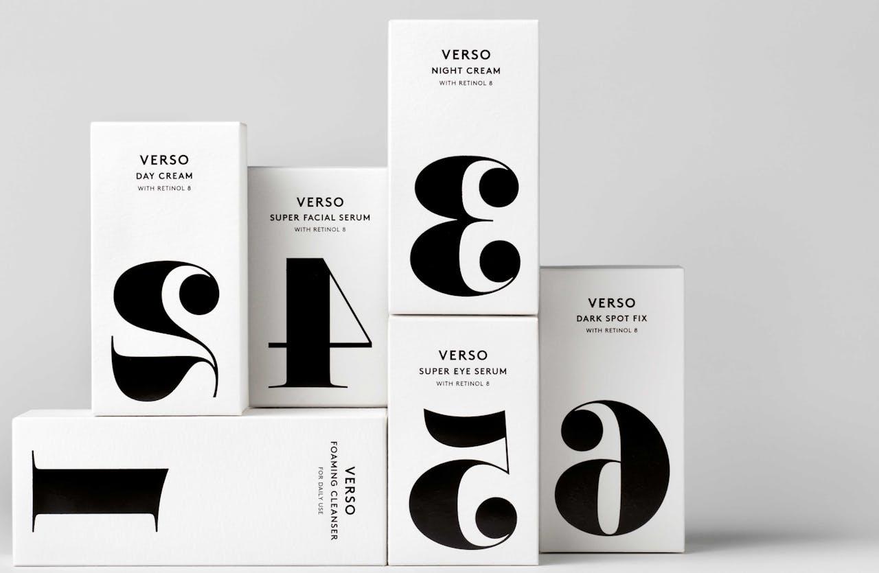 De Verso-producten zijn geschikt voor mannen- en vrouwenhuid.