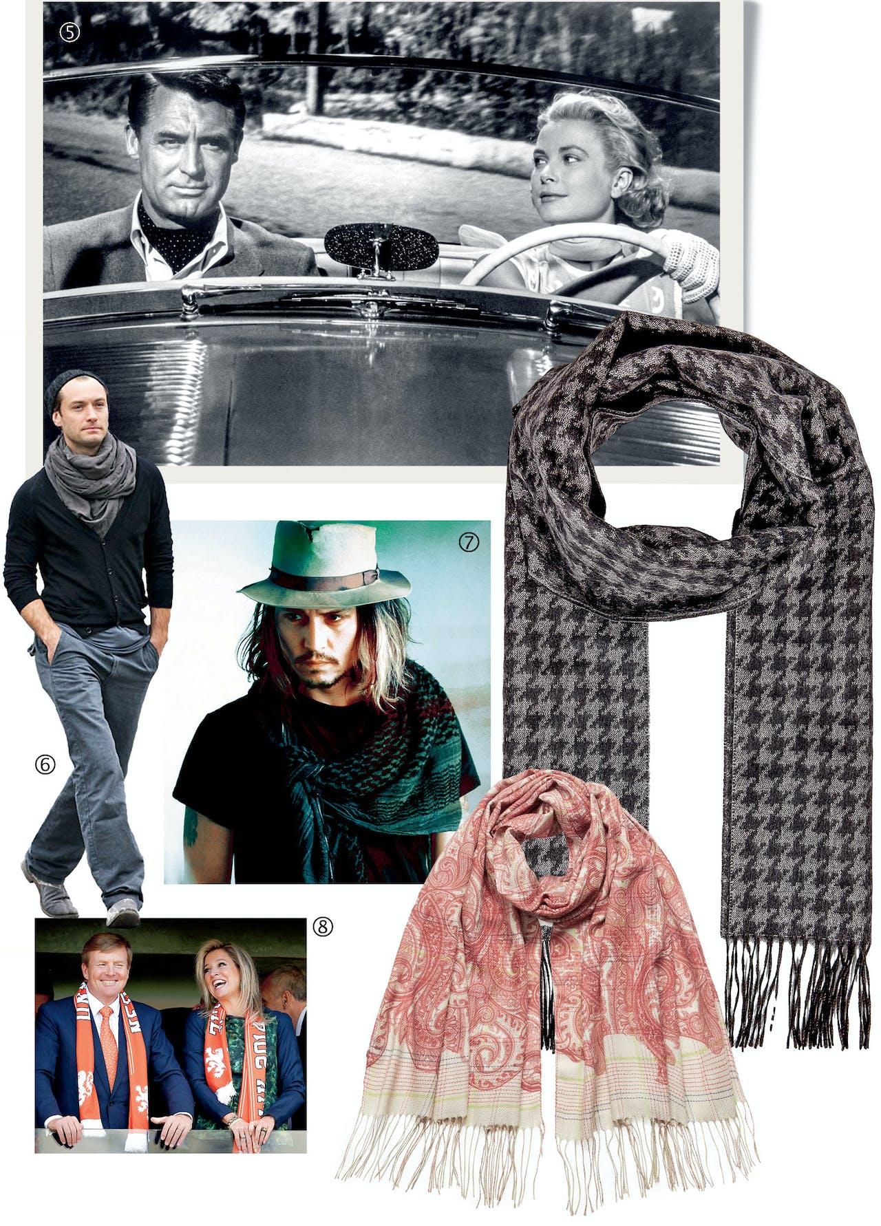 Boven: Brioni, €280, via Stylebop.com. Onder: Etro, €340, via Stylebop.com