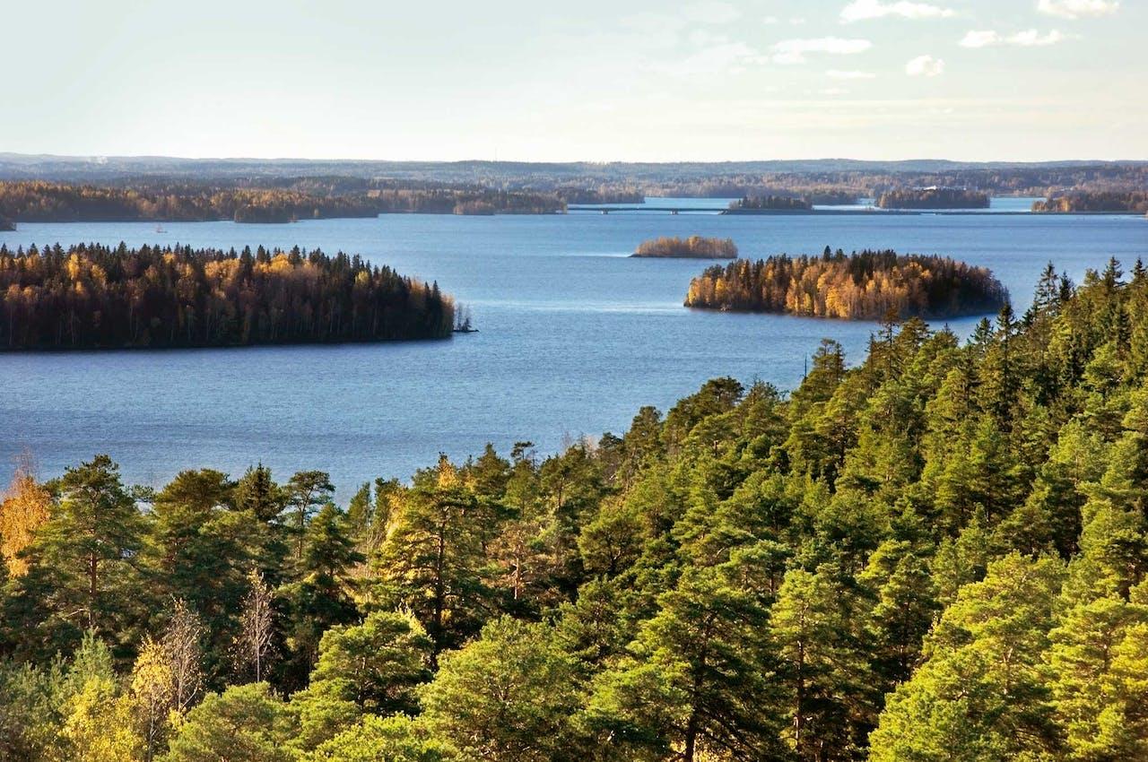 De schoonheid van het Finse landschap.