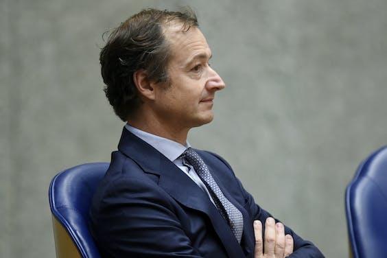 Staatssecretaris Eric Wiebes (foto: Peter Hilz/HH).