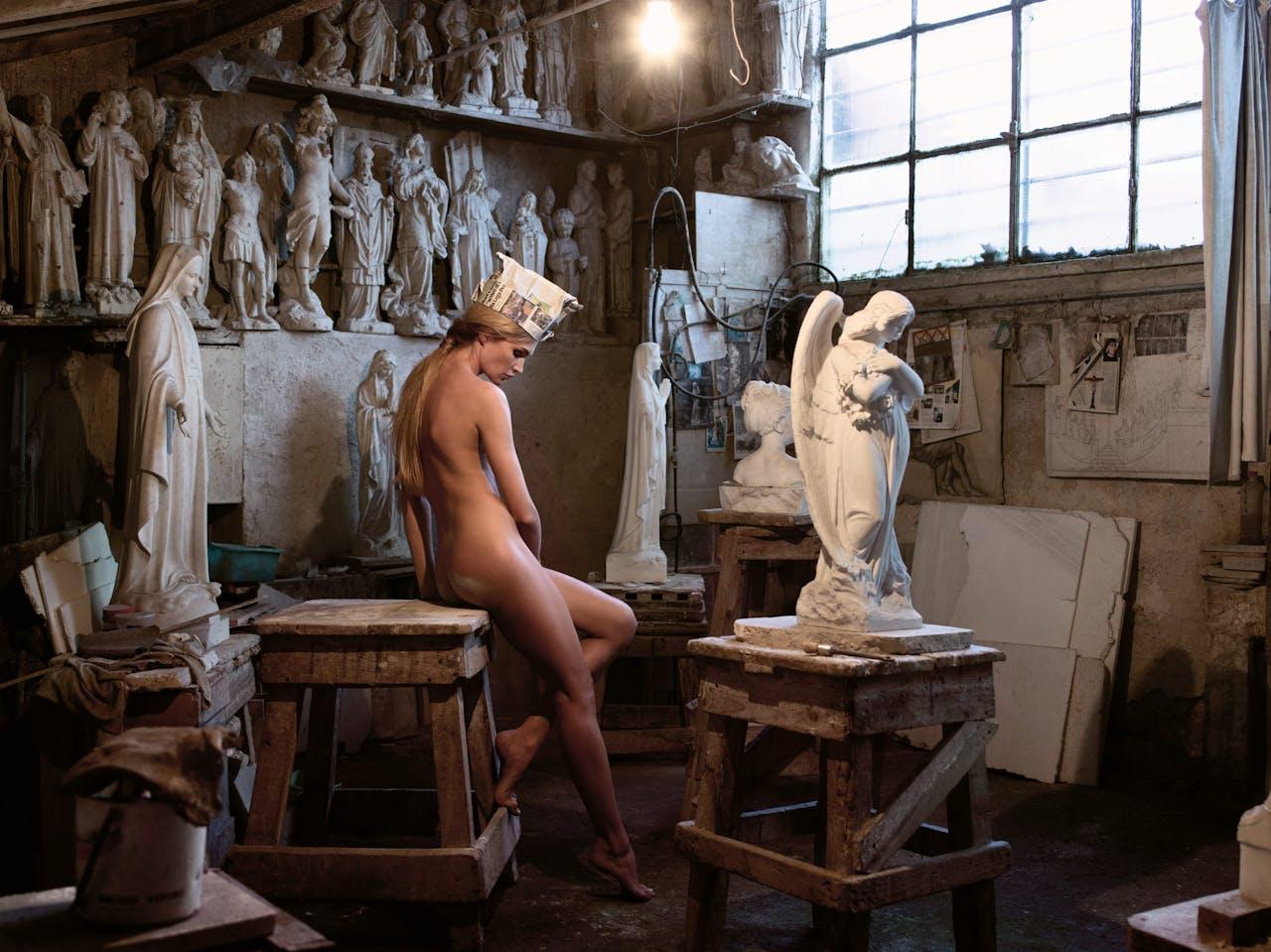 'Angels and saints', 2015.