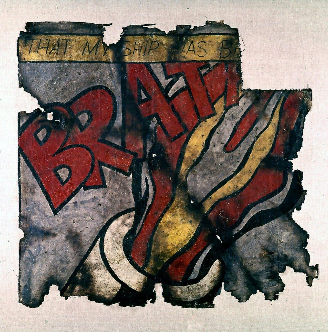 Komar en Melamid: 'Post Art No 2 (Lichtenstein)' uit 1973.