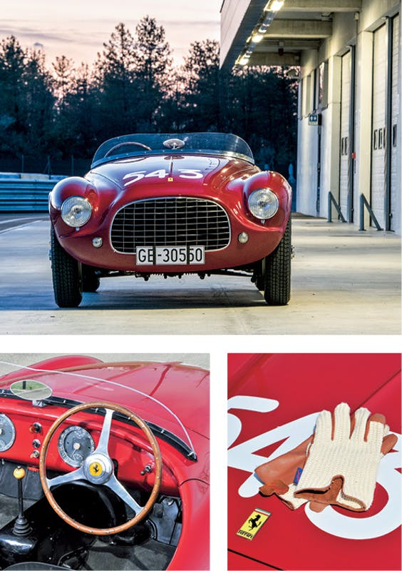 1952 Ferrari 212 Export Barchetta by Touring, verkocht voor €6.720.000.