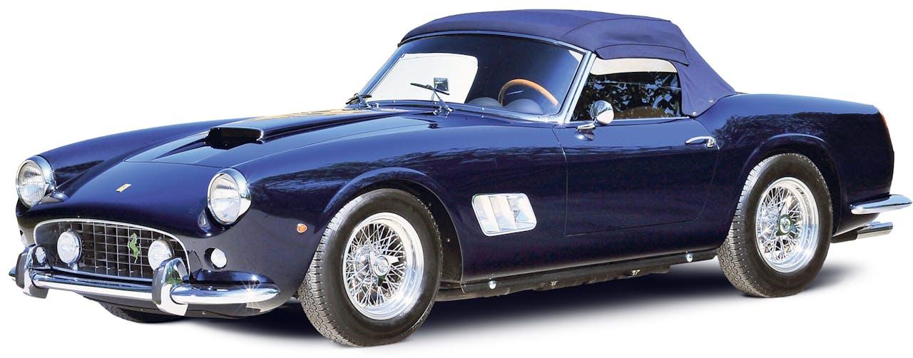 1961 Ferrari 250 GT SWB California Spider by Scaglietti.