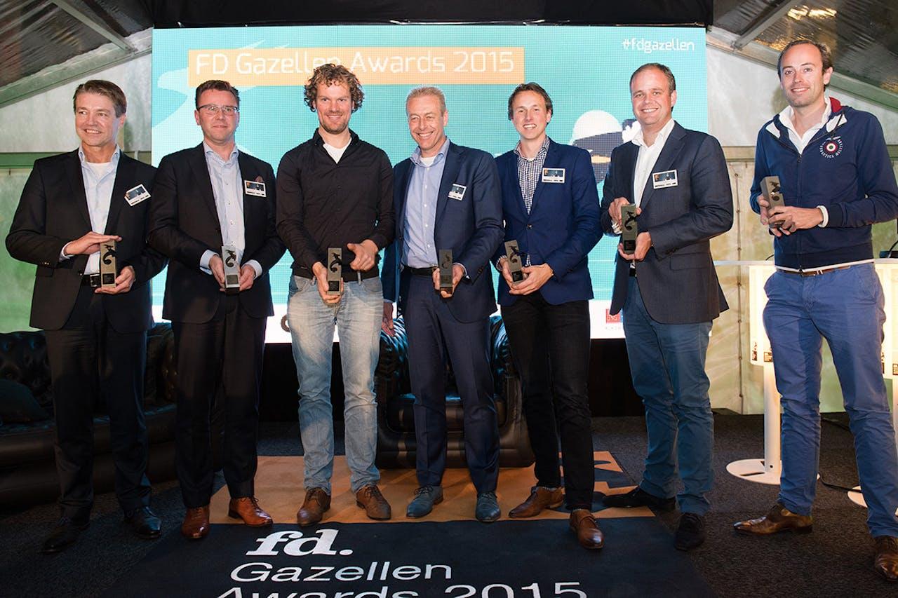 Alle winnaars van de Gouden Gazellen in Groningen, Friesland en Drenthe.