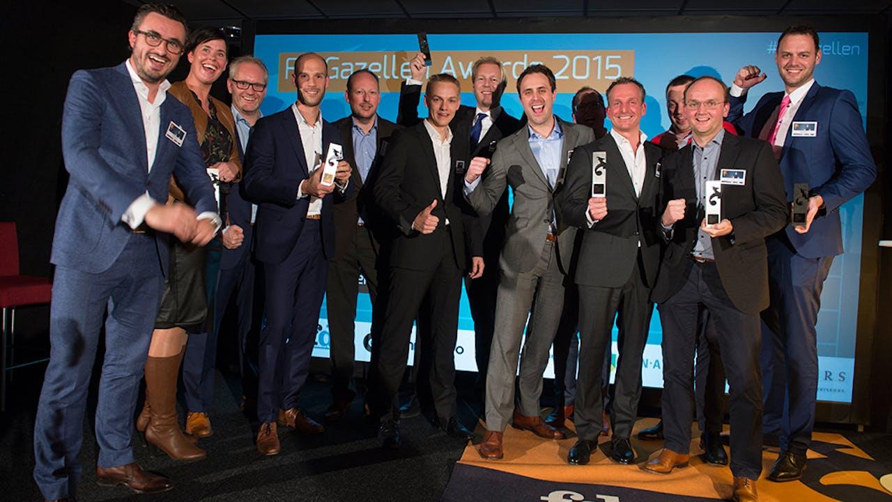 Alle winnaars van de Gouden Gazellen in Gelderland en Overijssel.