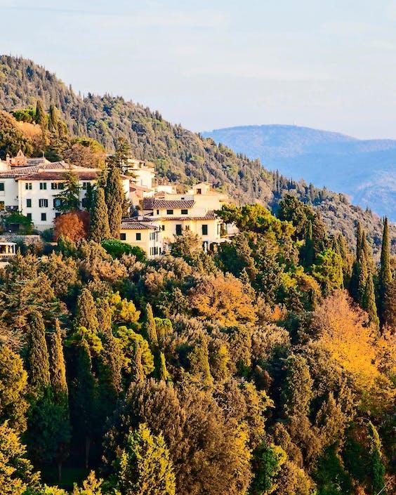 het bergstadje Fiesole (foto: iStock).
