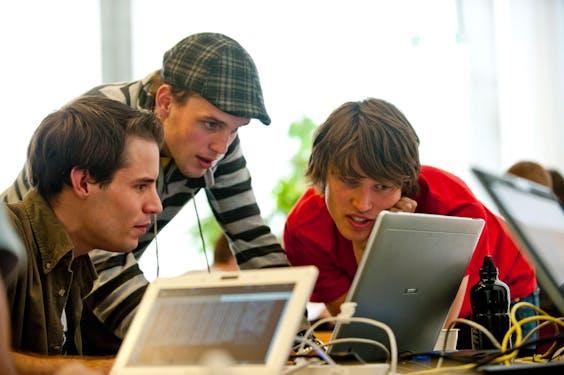 Informaticastudenten (Foto: HH)