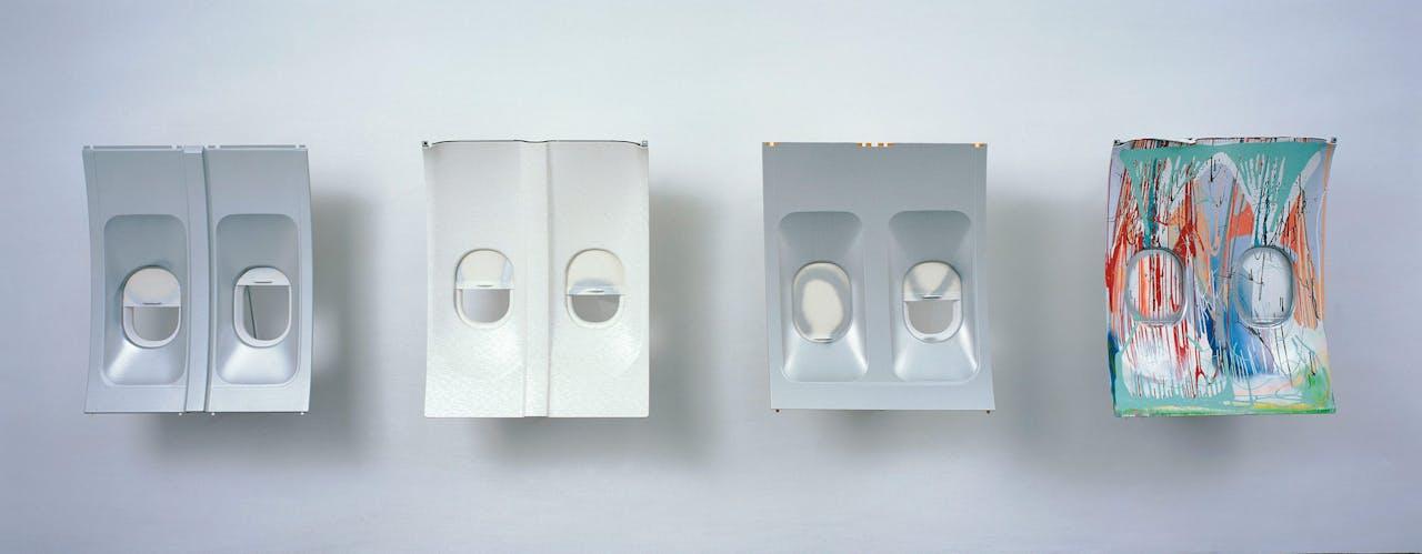 'Da Vinci' (2004). Dit vierluik heet zo, omdat Da Vinci wilde vliegen.