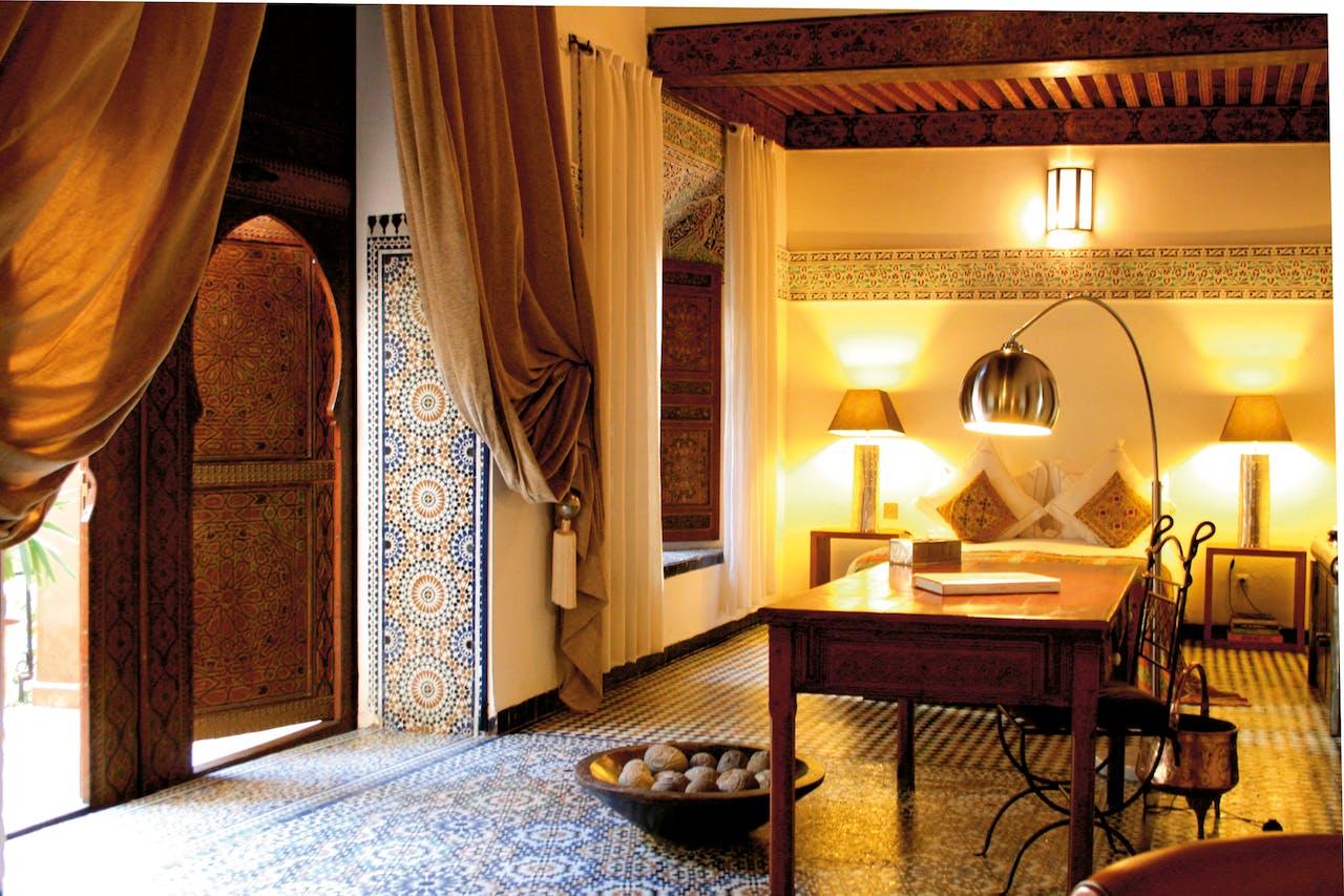 Suite in Riad Laarouassa.