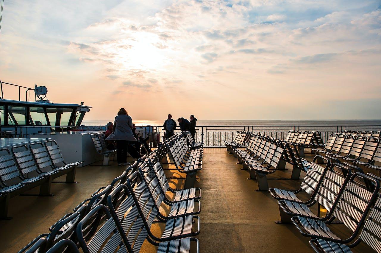 Veerboot naar Vlieland.