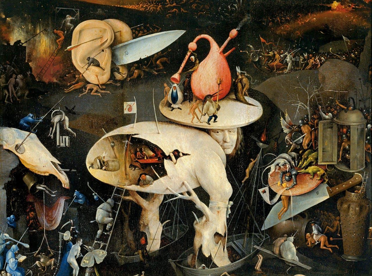 Het Satanische Plezier Van Jeroen Bosch