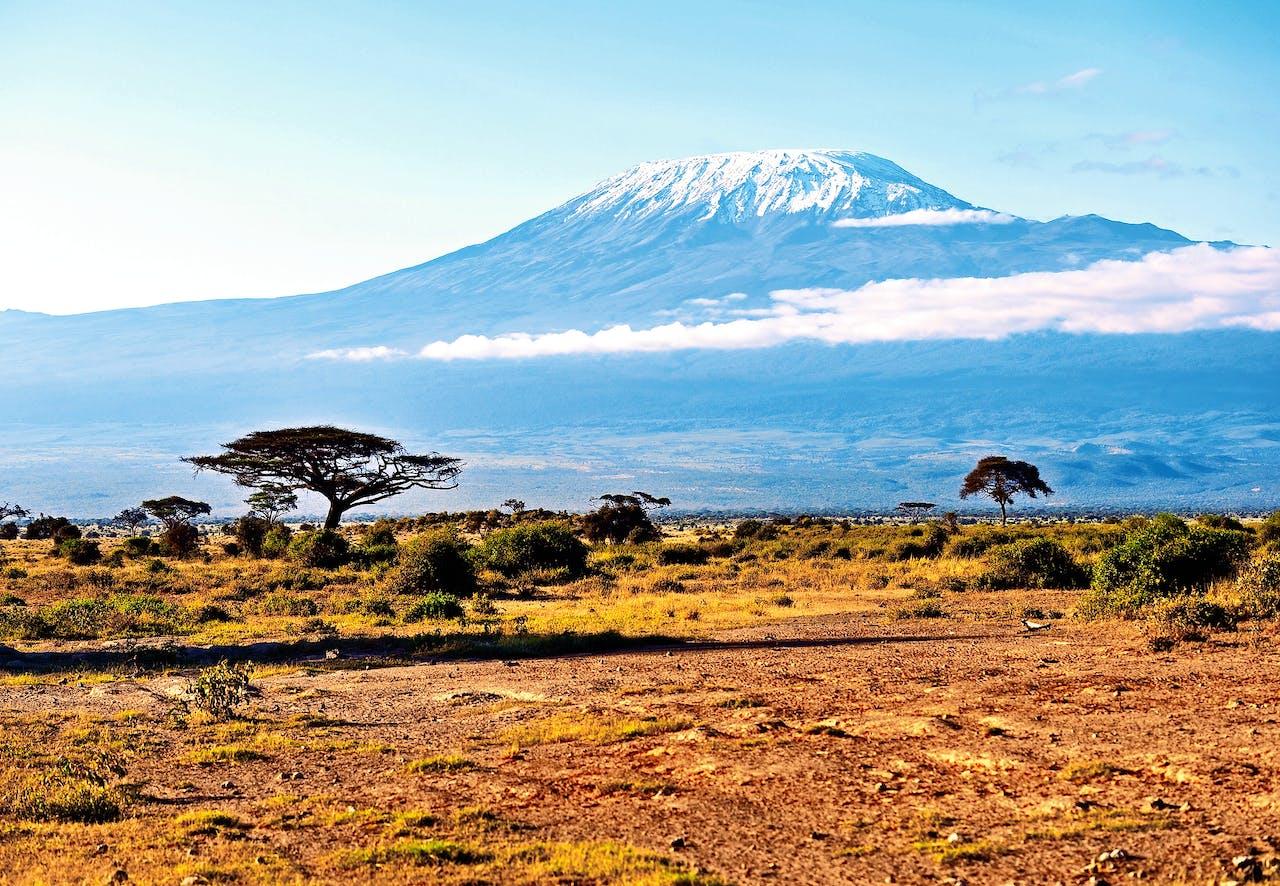 De Kilimanjaro in Tanzania (foto: HH/Corbis).
