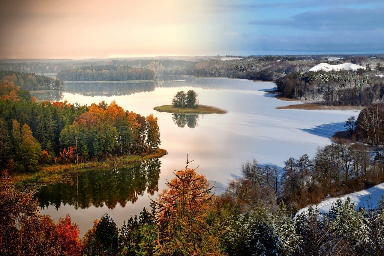 Mazurië, een gebied met duizenden meren (foto: HH/Corbis).