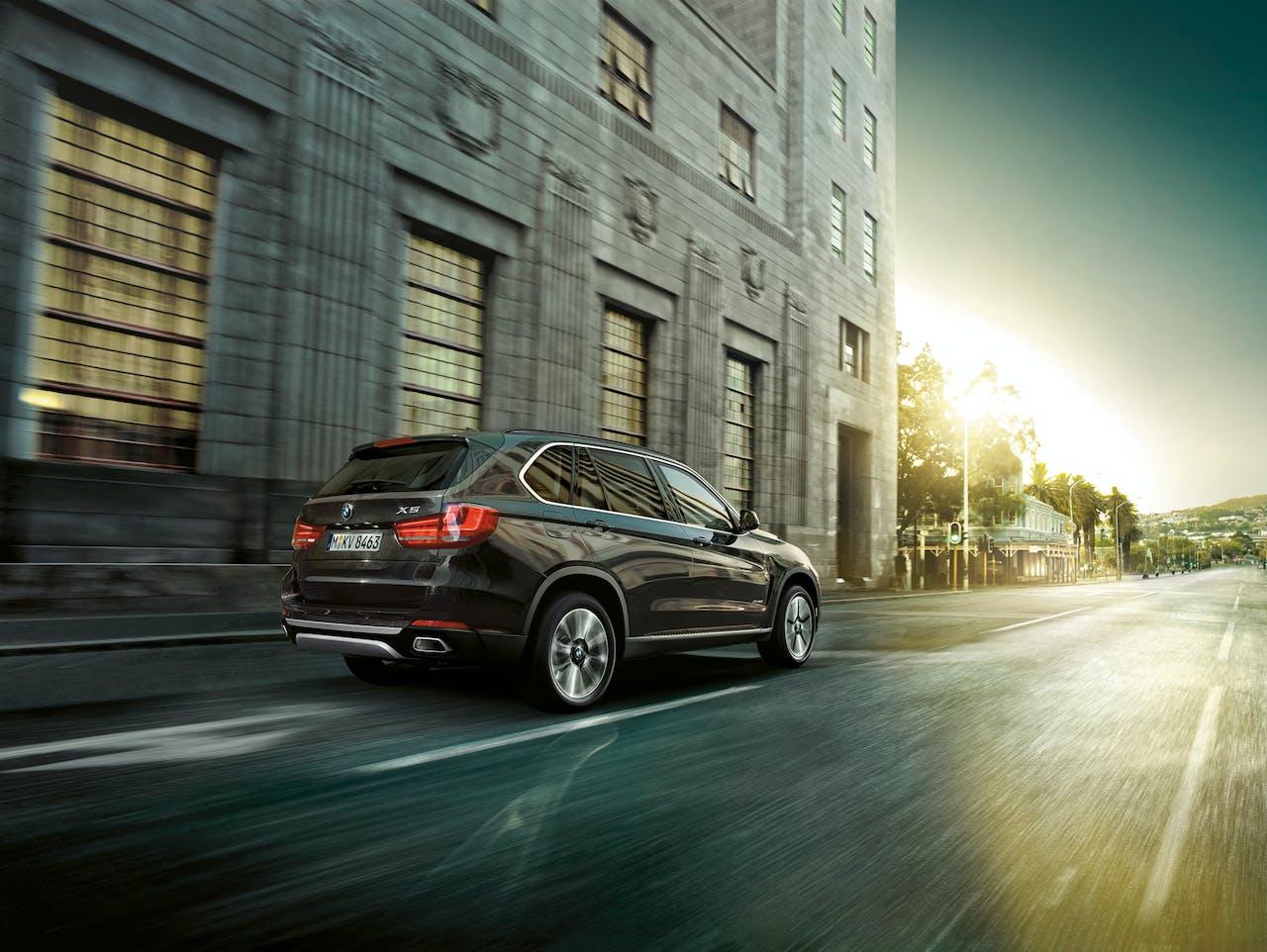 De BMW X5 kan op twee niveaus worden beveiligd.