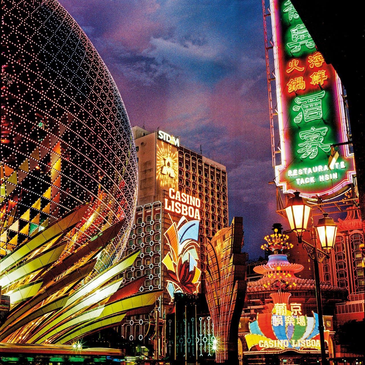 Naar het casino in Macau.