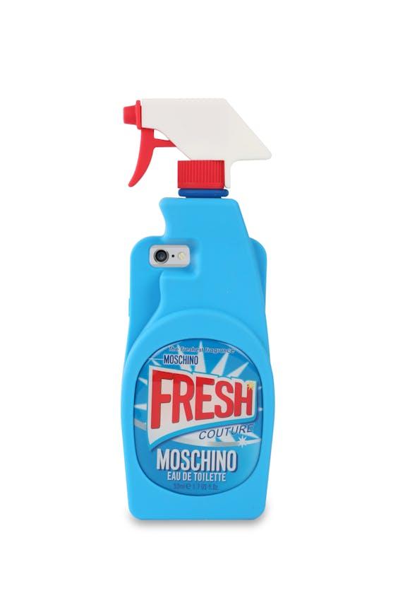 Moschino lijkt met zijn Fresh Couture de hele geurhandel op de hak te nemen.