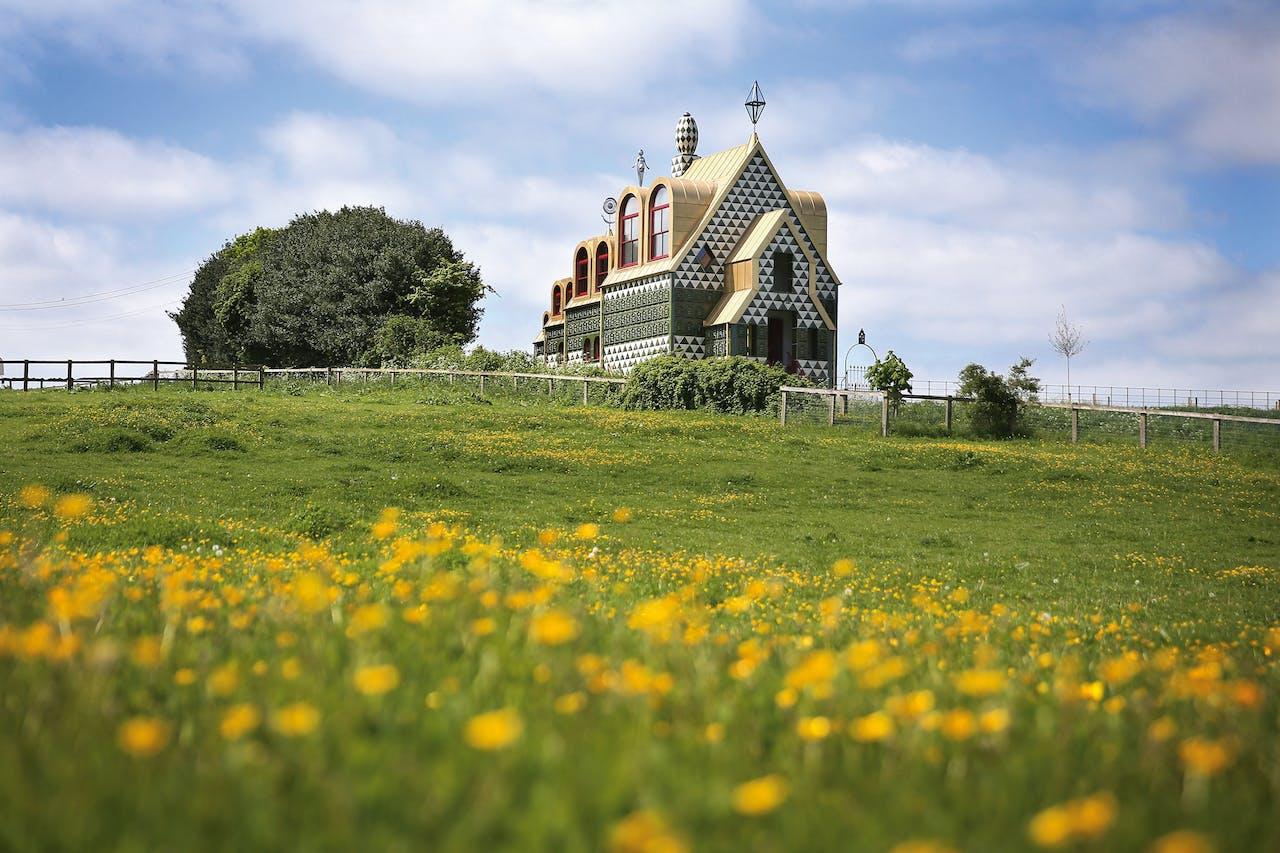 'A House for Essex' in het Britse Wrabness heeft als bijnaam 'The Gingerbread House' (het koekhuisje).