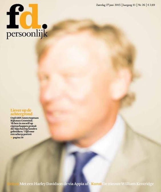 De genomineerde cover van FD Persoonlijk. (Foto: Marcel van der Vlugt)