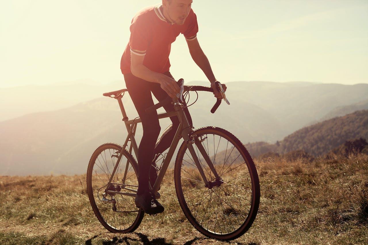 Fiets van Elian Cycles, het bedrijf van Elian Veltman uit het Gelderse Maurik.