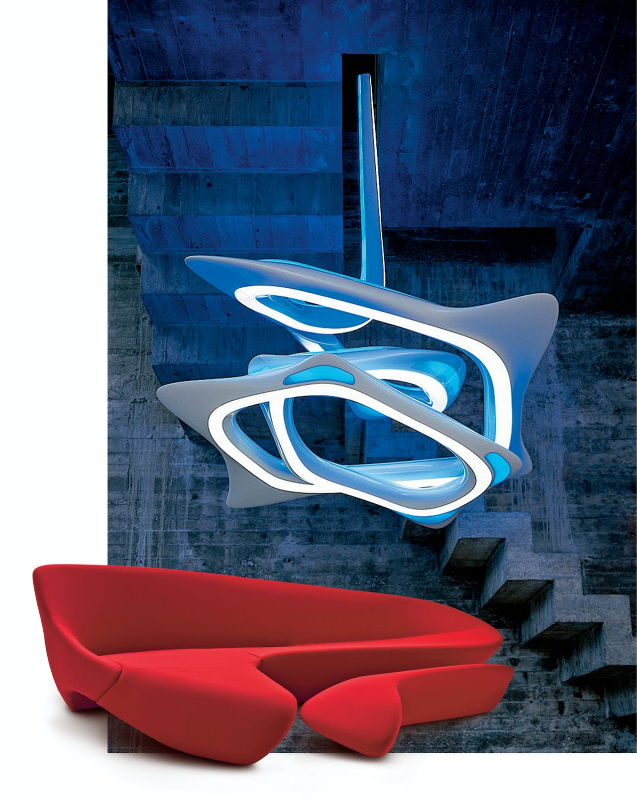 De Moon Sofa voor B&B Italia.