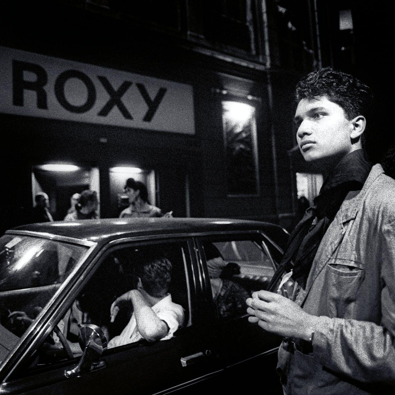 Jan Carel Warffemius: 'Club RoXY Amsterdam'(1989). De befaamde club werd opgericht door Peter Giele van het kunstenaarscollectief Aorta.