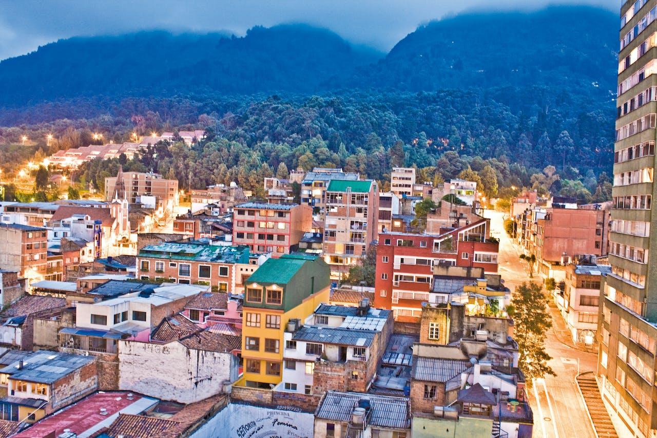 Bogota in Colombia.