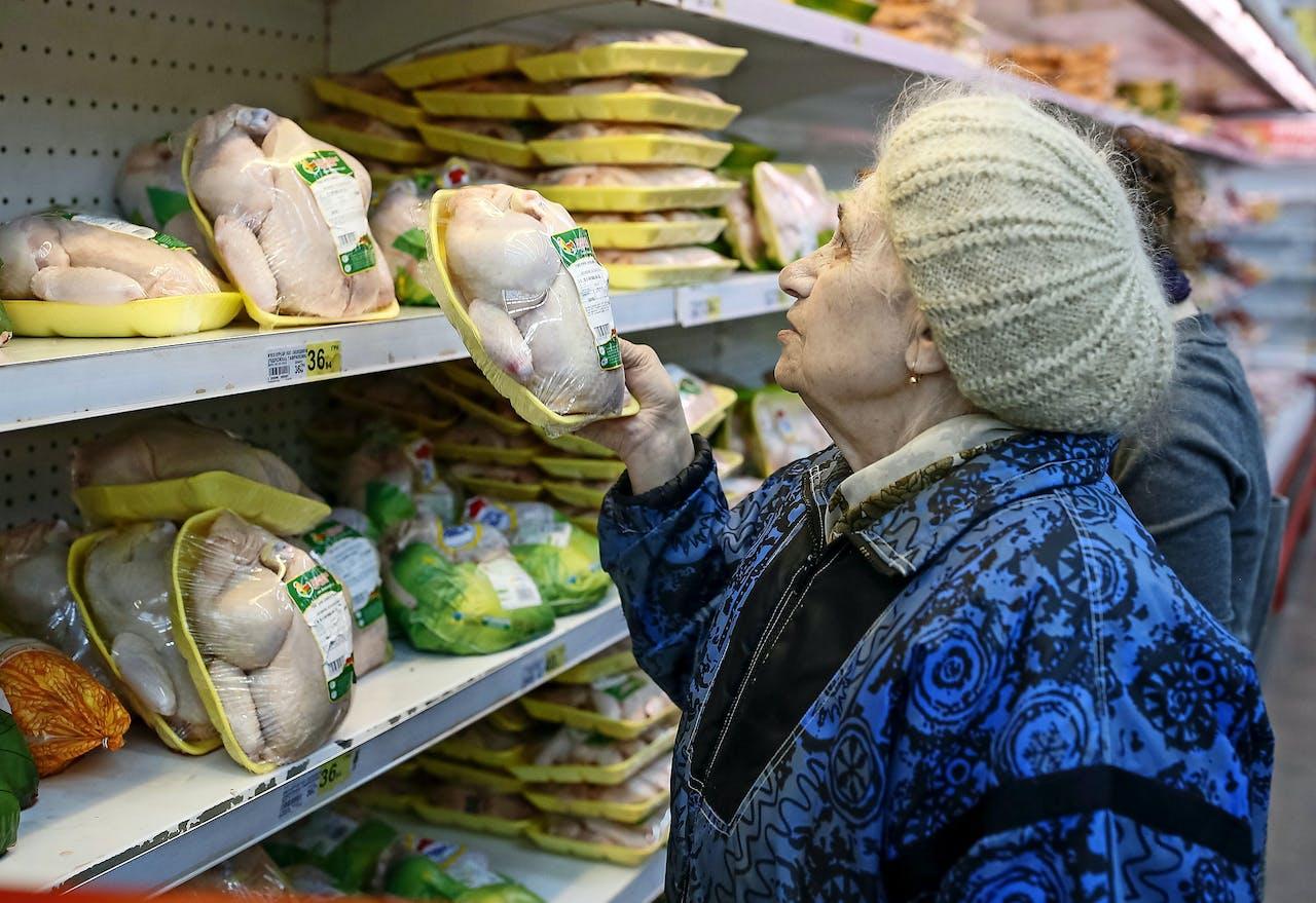 Een supermarkt in Kiev. (Foto: Reuters)