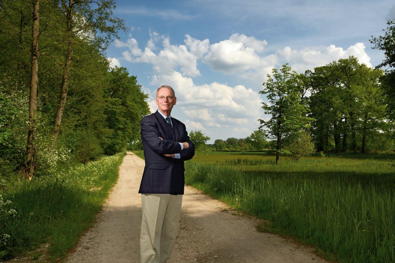 Floris baron van Asbeck, commissaris van landgoed Den Treek-Henschoten.