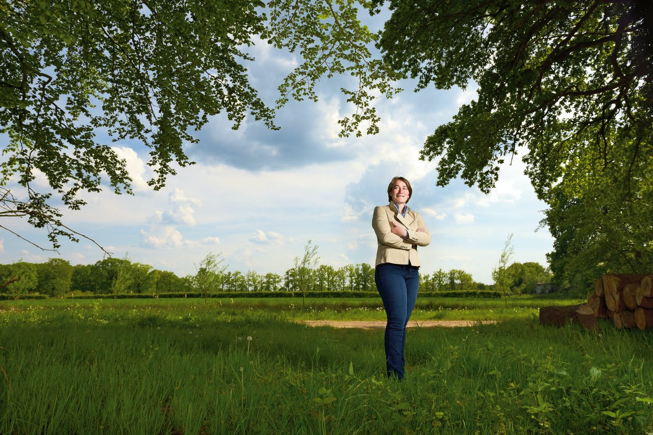 Fleur de Beaufort, bestuurslid van landgoed Den Treek-Henschoten.
