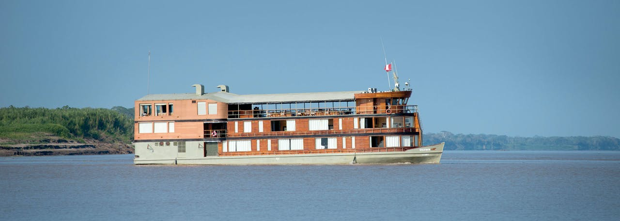 De luxe riviercruiser Delfin II.