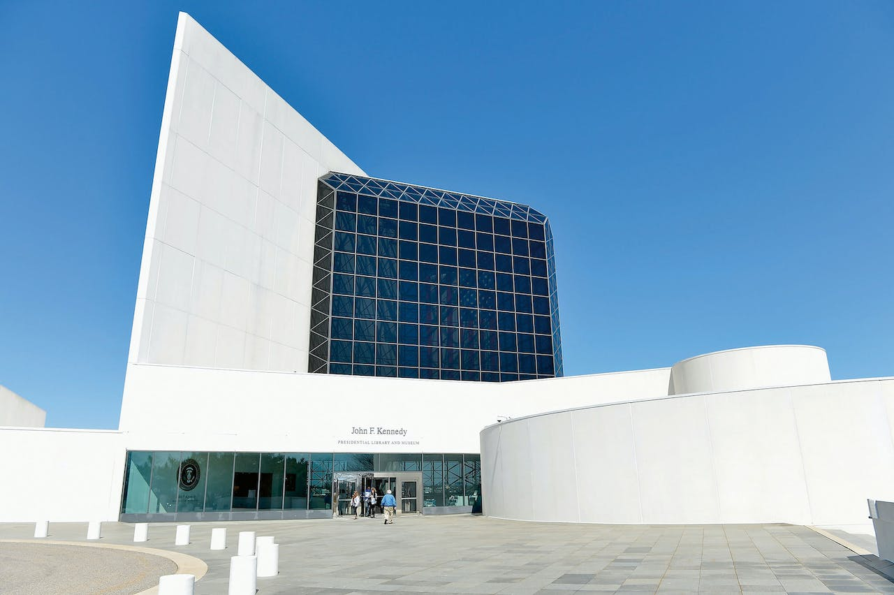 John F. Kennedy Presidential Library and Museum in Boston.