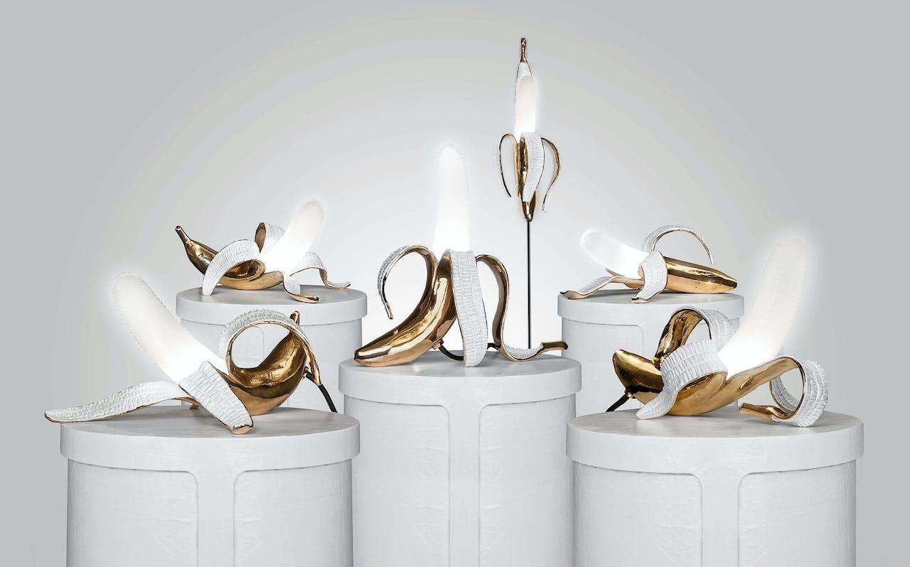 Studio Jobs Banana Lamp gooide hoge ogen op de designbeurs van Milaan in april dit jaar.