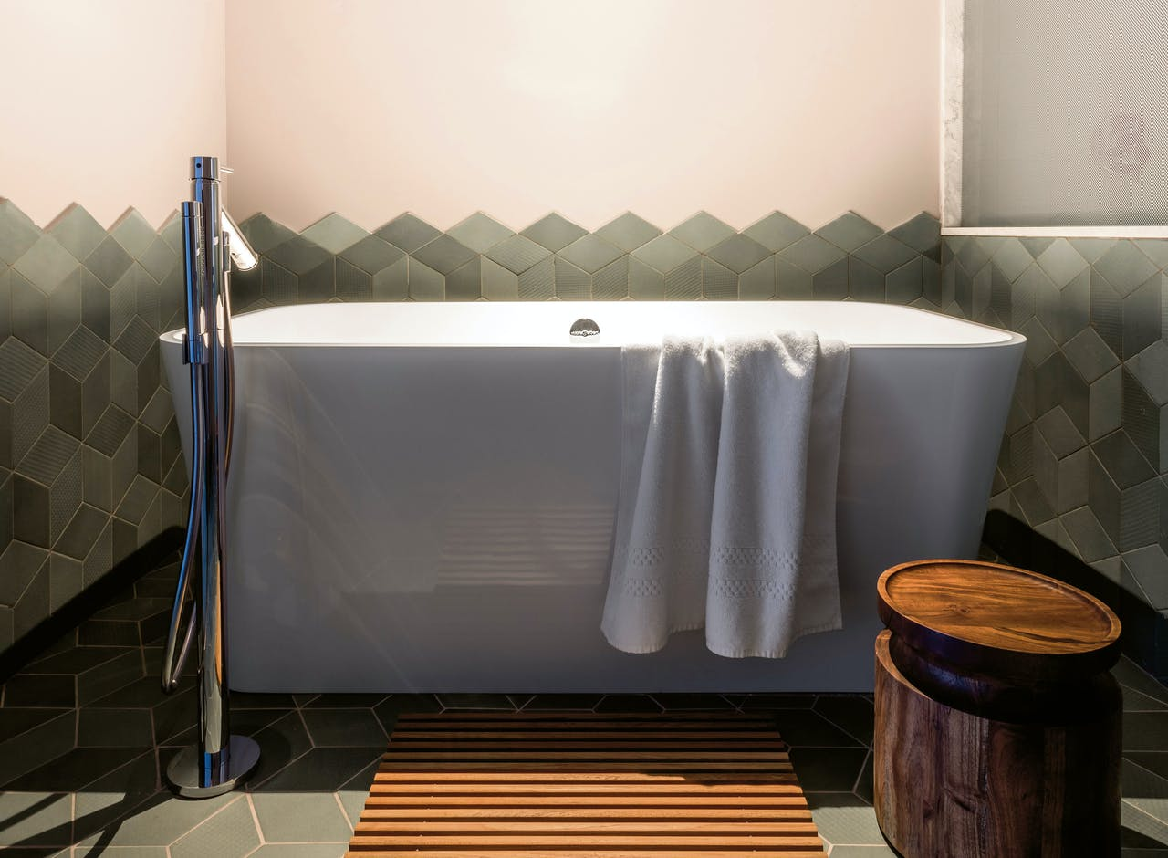 Badkamer The Soaking Tub.