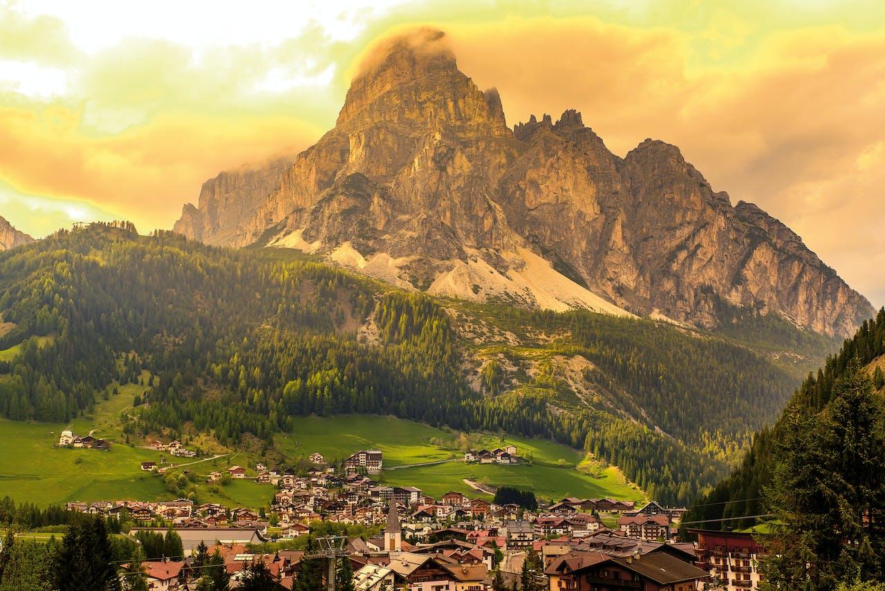 Bolzano, in het zuiden van Tirol.