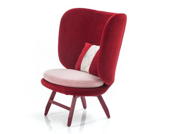 Een stoel voor Moroso.