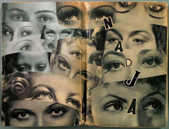 Cover van het boek 'Nadja' van André Breton, uit 1938.