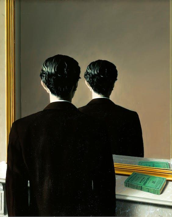 'Verboden af te beelden' (1937) door René Magritte is straks in het Boijmans te zien.