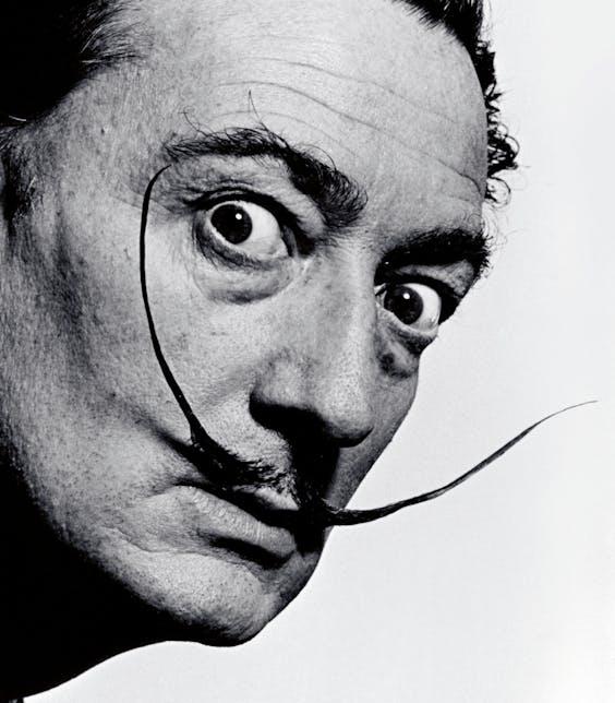 Salvador Dalí in 1954 (Foto: Magnum Photos/ Hollandse Hoogte).