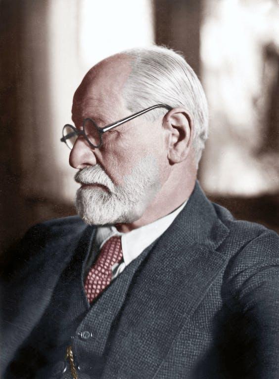 Sigmund Freud (1856-1939) in 1925.