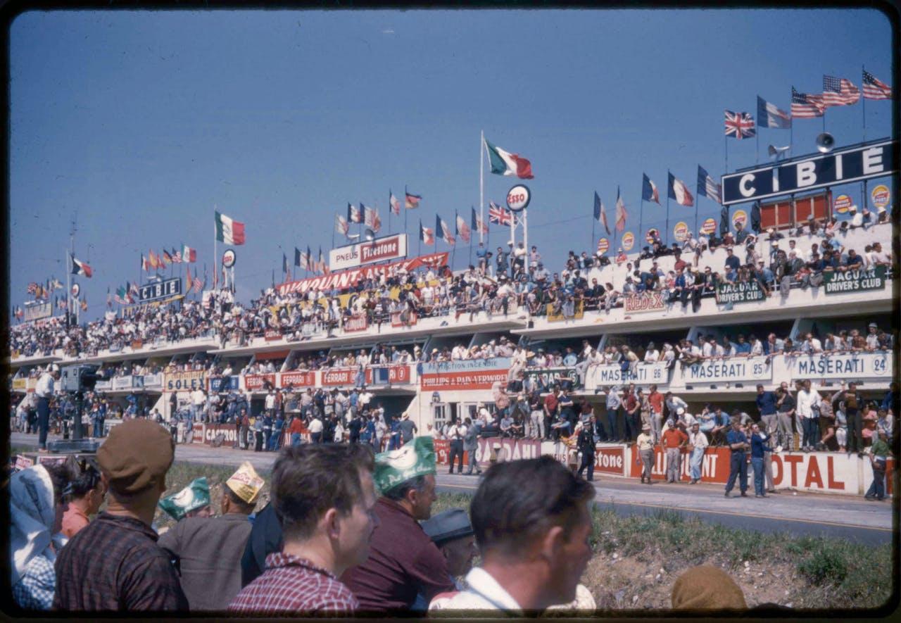Het circuit van de 24 uur van Le Mans.