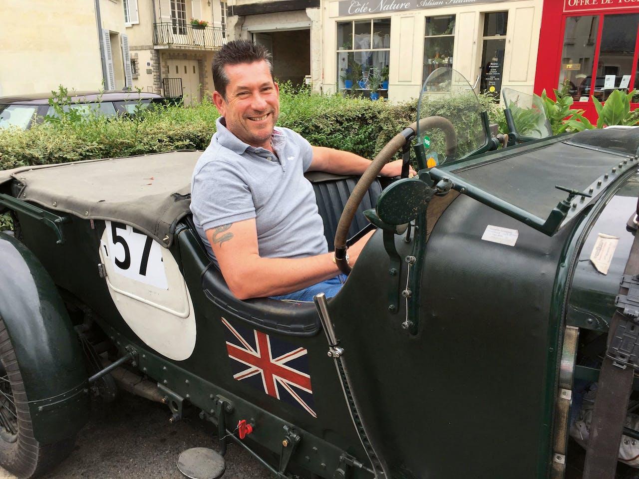 De Britse ondernemer Martin Overington, die het hotel kocht.