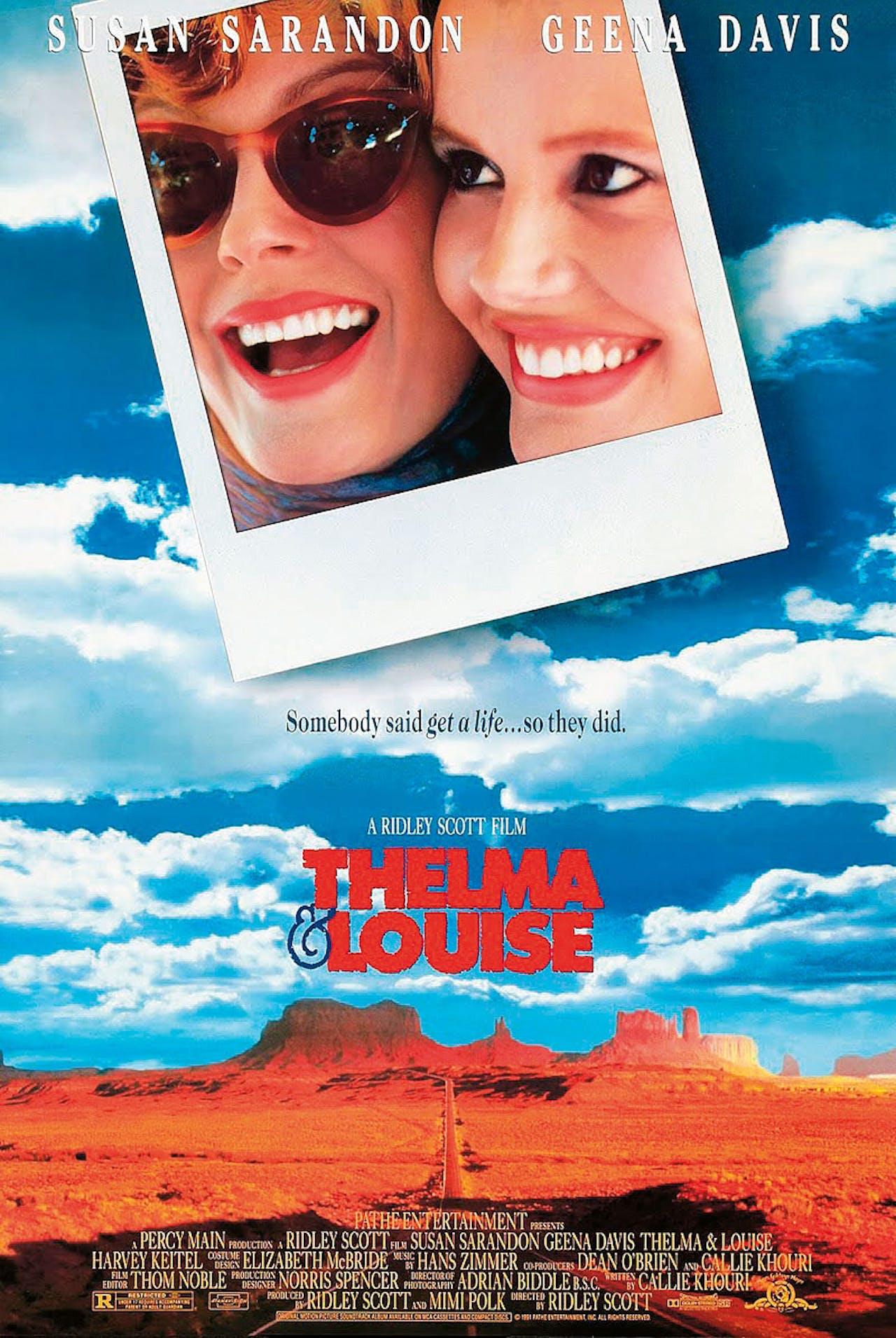 Thelma & Louise (Ridley Scott, 1991) | 1966 Ford Thunderbird Convertible