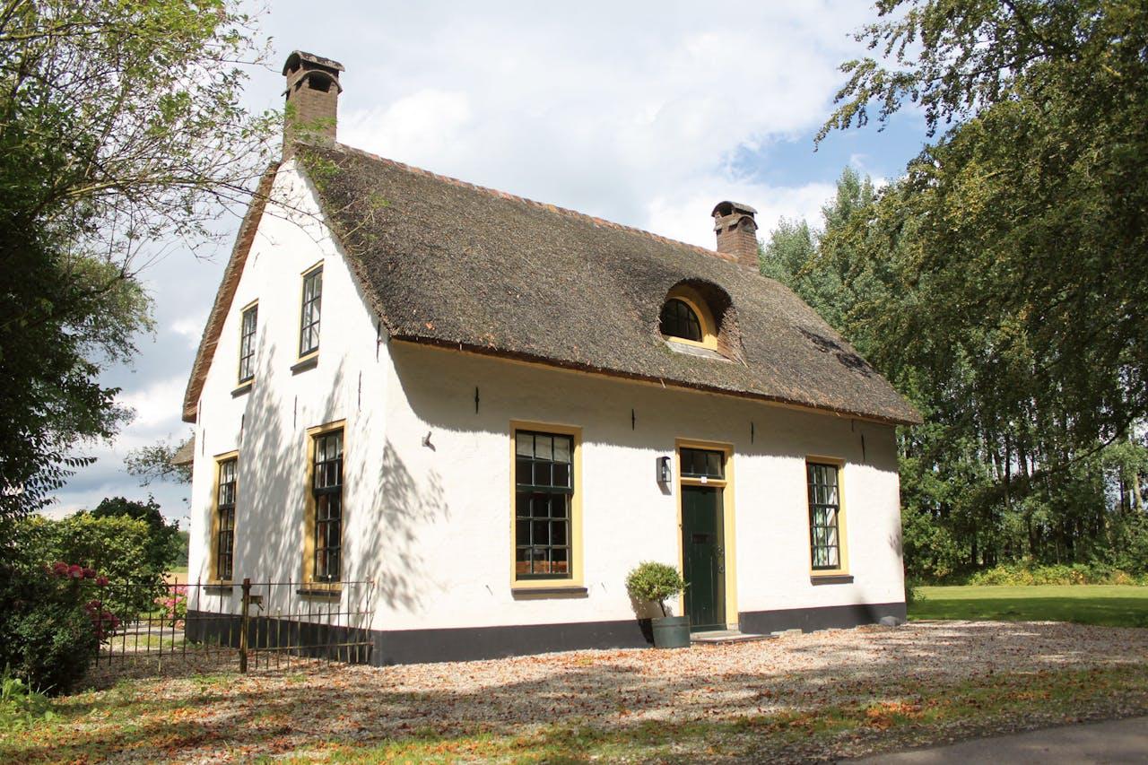 Het huis staat op landgoed Mariënwaerdt.
