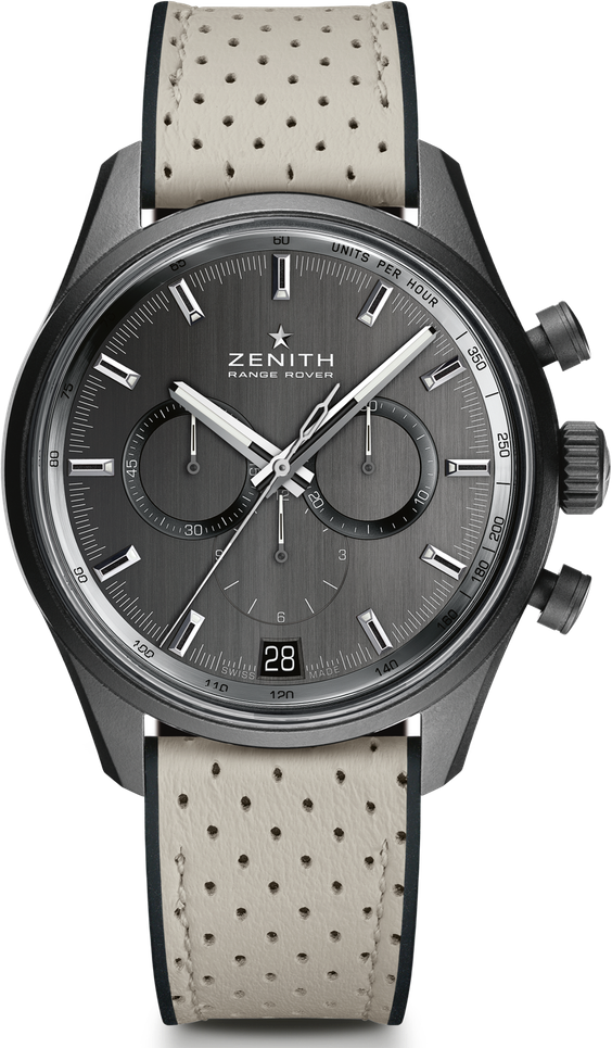 Prijs: circa €7900, zenith-watches.com